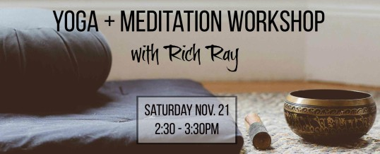 Yoga and Meditation with Rich Ray