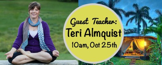 Class with Teri Almquist
