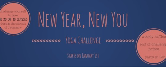 """New Year, New You"" Yoga Challenge"