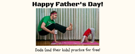 Free Yoga for Dads