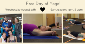Free Day of Yoga!
