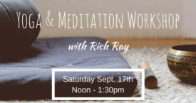 Yoga & Meditation Workshop