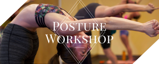 January Posture Workshop